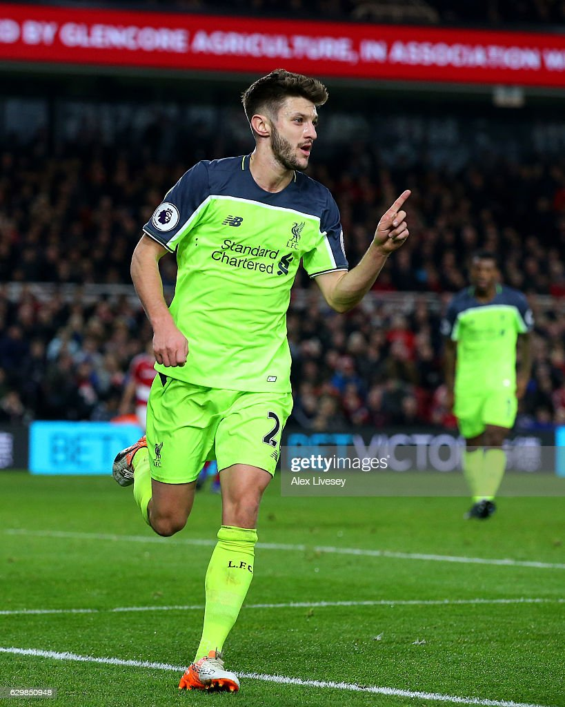 Adam Lallana Stock Photos And Pictures Getty Images