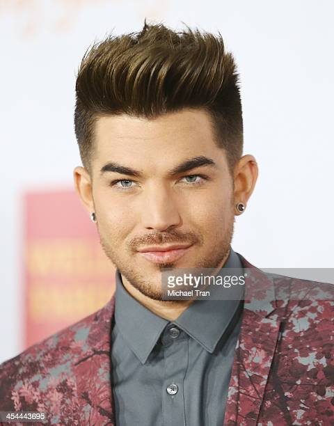 Adam Lambert arrives at the 15th Annual Trevor Project Benefit held at Hollywood Palladium on December 8 2013 in Hollywood California