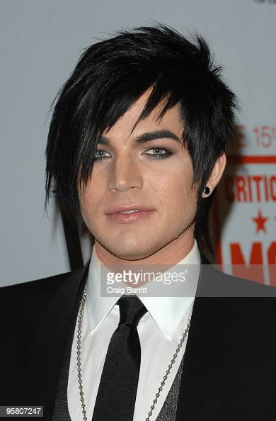 Adam Lambert arrives for the 15th Annual Critics Choice Movie Awards Official After Party at Katsuya on January 15 2010 in West Hollywood California
