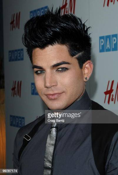 Adam Lambert at Paper Magazine's 13th annual Beautiful People issue celebration at The Standard Hotel on May 13 2010 in Los Angeles California