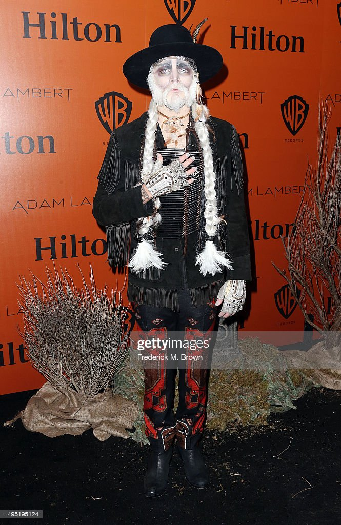 Hilton@PLAY Hosts Adam Lambert's Ghost Town Halloween Party - Arrivals