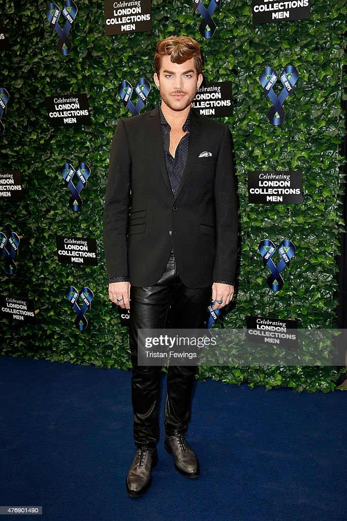 <a gi-track='captionPersonalityLinkClicked' href=/galleries/search?phrase=Adam+Lambert&family=editorial&specificpeople=5706674 ng-click='$event.stopPropagation()'>Adam Lambert</a> attends One For The Boys Fashion Ball hosted by Samuel L. Jackson, uniting men against cancer to kick start London Collections Men at The Roundhouse on June 12, 2015 in London, England.