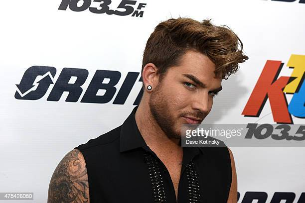 Adam Lambert attends the 1035 KTU's KTUphoria 2015 Arrivals at Nikon at Jones Beach Theater on May 31 2015 in Wantagh New York