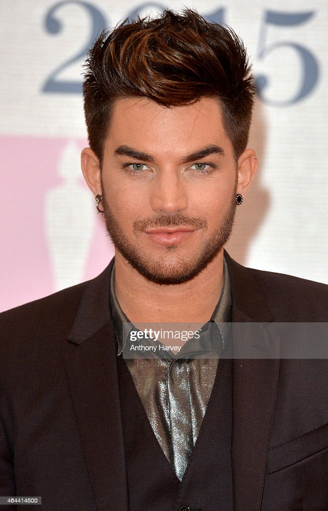 <a gi-track='captionPersonalityLinkClicked' href=/galleries/search?phrase=Adam+Lambert&family=editorial&specificpeople=5706674 ng-click='$event.stopPropagation()'>Adam Lambert</a> attends the BRIT Awards 2015 at The O2 Arena on February 25, 2015 in London, England.