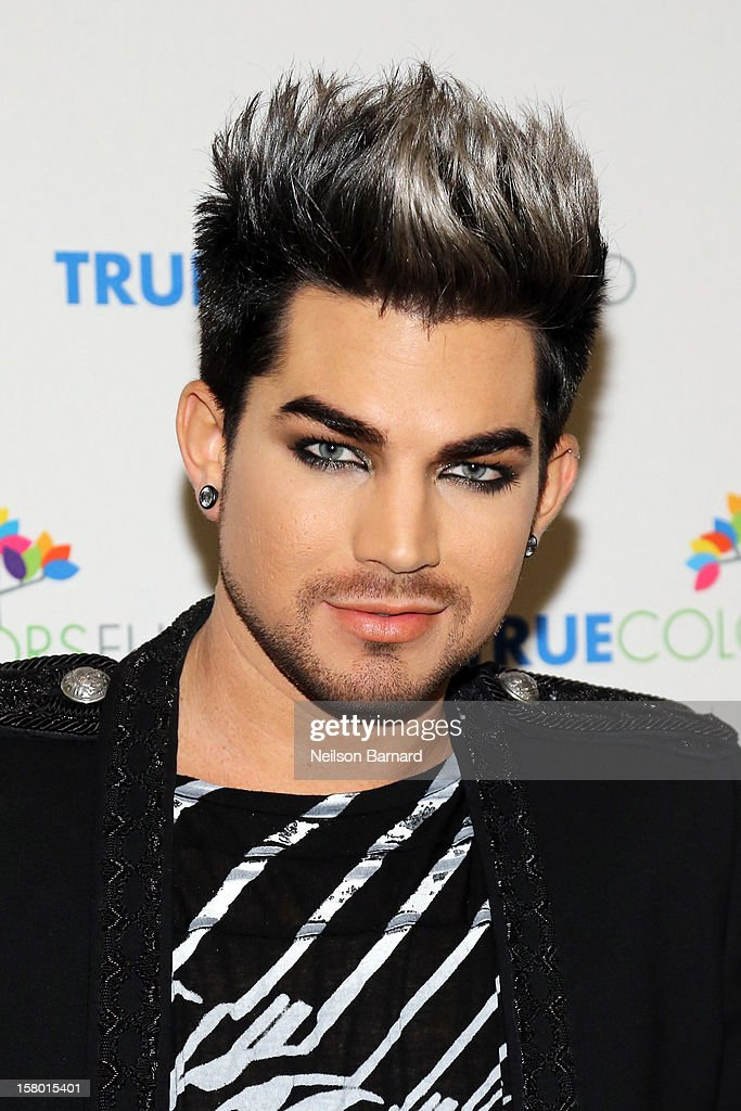<a gi-track='captionPersonalityLinkClicked' href=/galleries/search?phrase=Adam+Lambert&family=editorial&specificpeople=5706674 ng-click='$event.stopPropagation()'>Adam Lambert</a> attends the Cyndi Lauper and Friends: Home For The Holiday's Concert at The Beacon Theatre on December 8, 2012 in New York City.