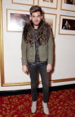 Adam Lambert attends the final performance of 'We Will Rock You' at the Dominion Theatre on May 31 2014 in London England