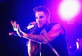 Adam Lambert performs at Enmore Theatre on January 30 2016 in Sydney Australia