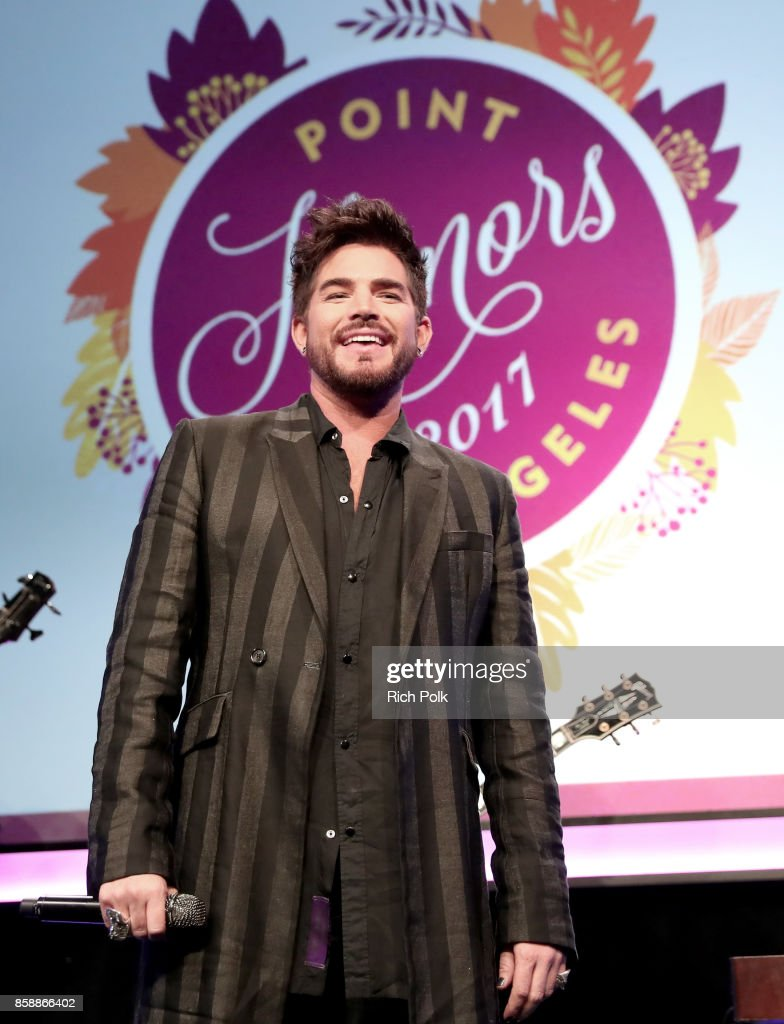 Adam Lambert performs onstage at Point Honors Los Angeles 2017, benefiting Point Foundation, at The Beverly Hilton Hotel on October 7, 2017 in Beverly Hills, California.