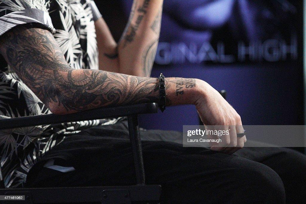 Aol build speaker series presents adam lambert getty images for Adam lambert tattoos