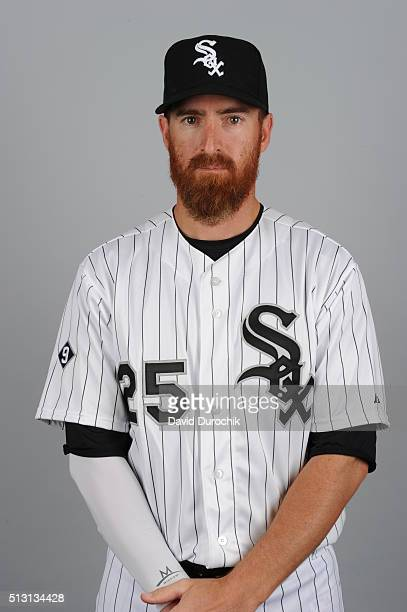 Adam LaRoche of the Chicago White Sox poses during Photo Day on Saturday February 27 2016 at Camelback Ranch in Glendale Arizona