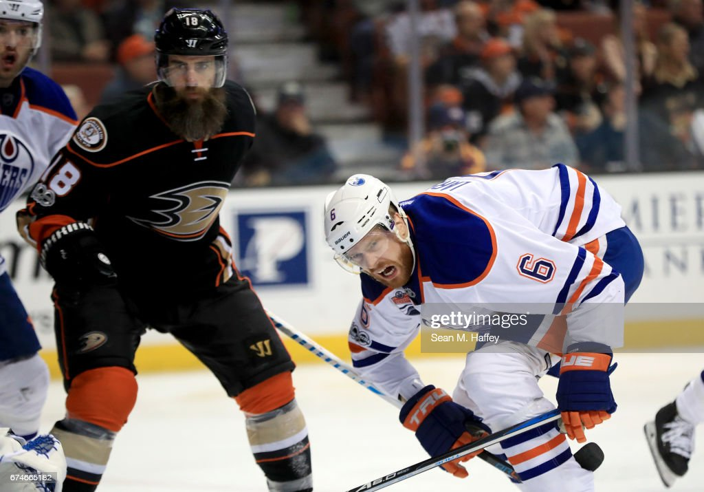 Edmonton Oilers v Anaheim Ducks - Game Two