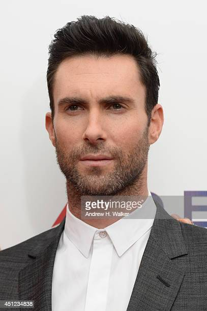 Adam Levine attends the 'Begin Again' premiere at SVA Theater on June 25 2014 in New York City