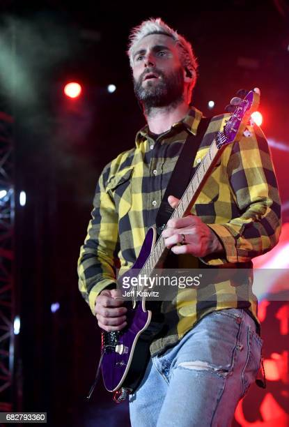 Adam Levine of Maroon 5 performs onstage during 1027 KIIS FM's 2017 Wango Tango at StubHub Center on May 13 2017 in Carson California