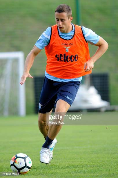 Adam Marusic during the SS Lazio PreSeason Training Camp on July 22 2017 in Pieve di Cadore Italy