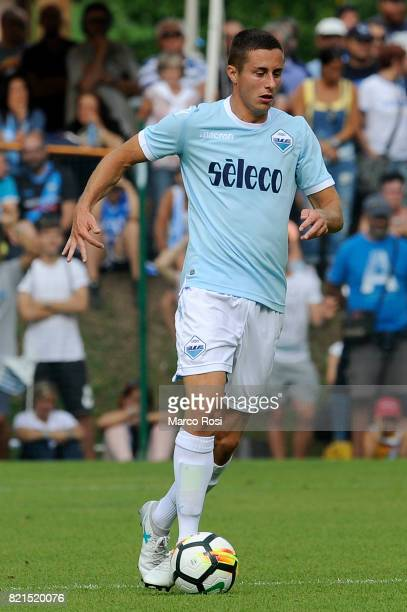 Adam Marusic of SS Lazio during the preseason friendly match between SS Lazio and SPAL on July 22 2017 in Pieve di Cadore Italy