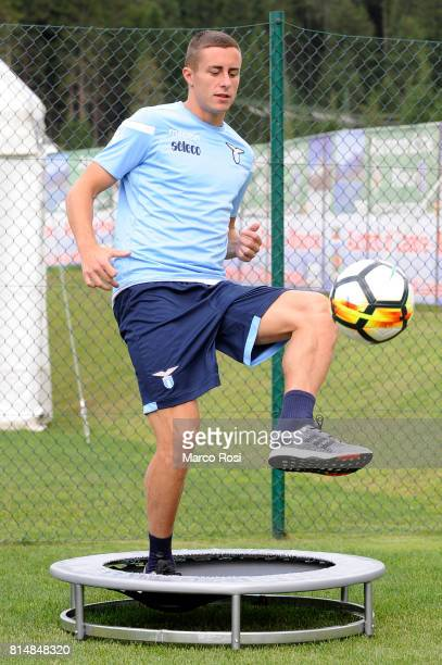 Adam Marusic of SS Lazio during the SS Lazio PreSeason Training Camp on July 15 2017 in Pieve di Cadore Italy
