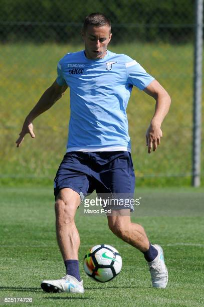 Adam Marusic of SS Lazio during the SS Lazio Training Camp during the on August 1 2017 in Walchsee Austria