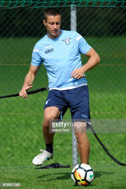 Adam Marusic of SS Lazio during the SS Lazio Training Camp on August 3 2017 in Walchsee Austria