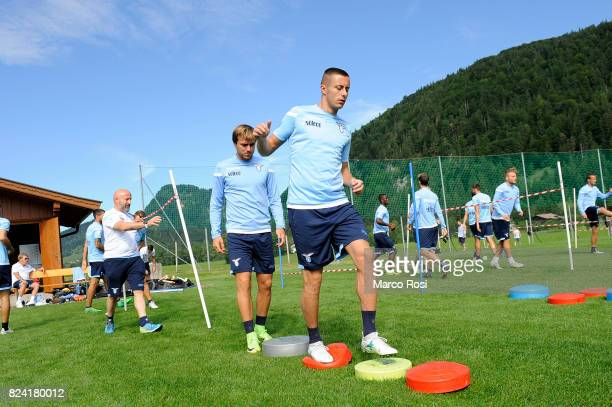 Adam Marusic of SS Lazio during the SS Lazio Training Camp on July 29 2017 in Walchsee Austria