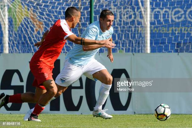 Adam Marusic of SS Lazio during the SS Lazio V Tristina PreSeason Friendly match on July 19 2017 in Pieve di Cadore Italy