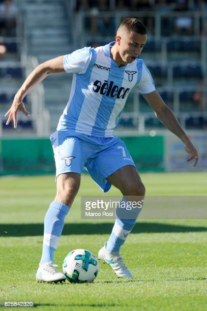 Adam Marusic of SS Lazio in action during the preseason friendly match between SS Lazio and Bayer Leverkusen at GoldbergStadion on July 30 2017 in...