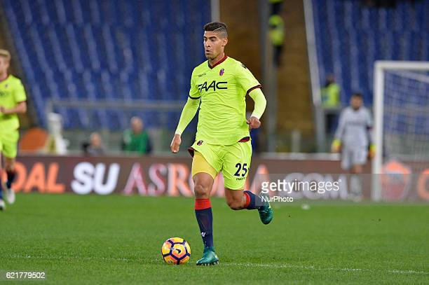 Adam Masina during the Italian Serie A football match between AS Roma and FC Bologna at the Olympic Stadium in Rome on november 06 2016