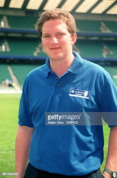 Adam Mason wearing a Zurich polo shirt