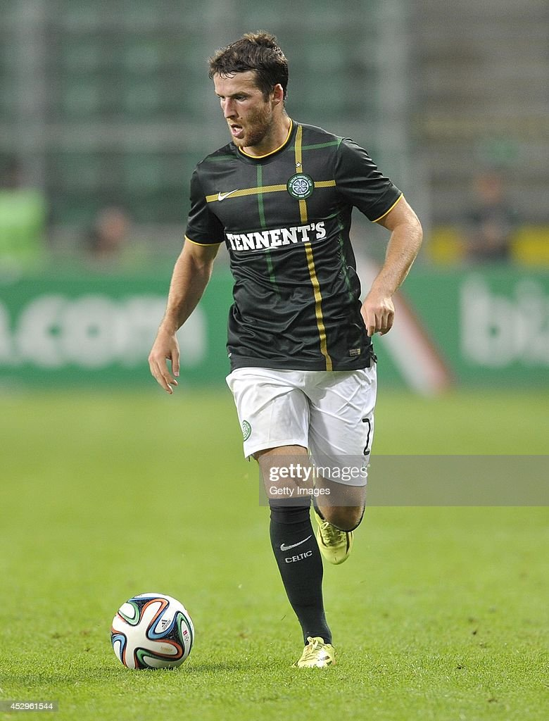 <a gi-track='captionPersonalityLinkClicked' href=/galleries/search?phrase=Adam+Matthews+-+Soccer+Player&family=editorial&specificpeople=11408041 ng-click='$event.stopPropagation()'>Adam Matthews</a> of Celtic during the third qualifying round UEFA Champions League match between Legia and Celtic at Pepsi Arena on July 30, 2014 in Warsaw, Poland.