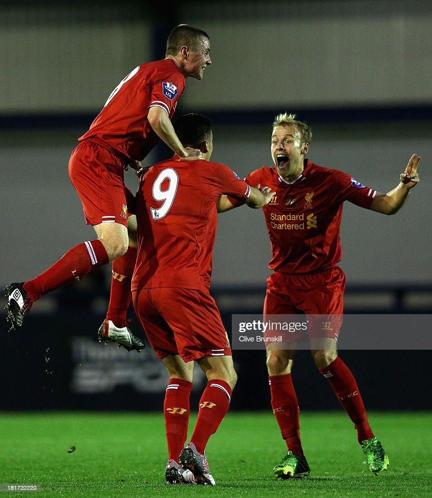 Manchester City U21 v Liverpool U21 - Barclays U21s Premier League