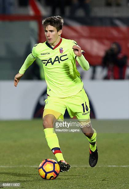 Adam Nagy of Bologna during the Serie A match between FC Crotone and Bologna FC at Stadio Comunale Ezio Scida on January 14 2017 in Crotone Italy