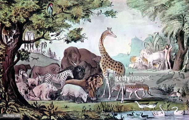 'Adam Naming the Creatures' 1847