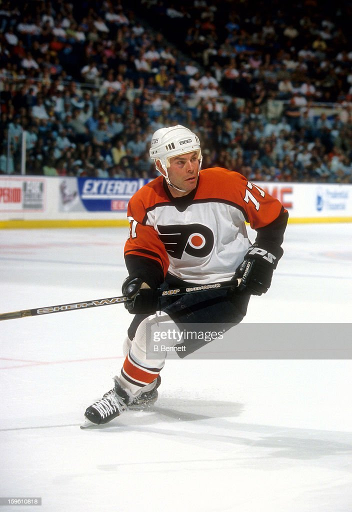 <a gi-track='captionPersonalityLinkClicked' href=/galleries/search?phrase=Adam+Oates&family=editorial&specificpeople=209315 ng-click='$event.stopPropagation()'>Adam Oates</a> #77 of the Philadelphia Flyers skates on the ice during an NHL game against the New York Rangers on April 13, 2002 at the Wells Fargo Center in Philadelphia, Pennsylvania.