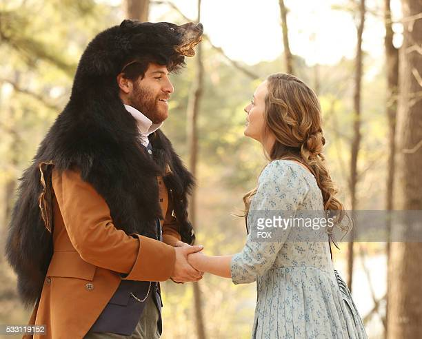 Adam Pally and Leighton Meester in MAKING HISTORY premiering midseason on FOX