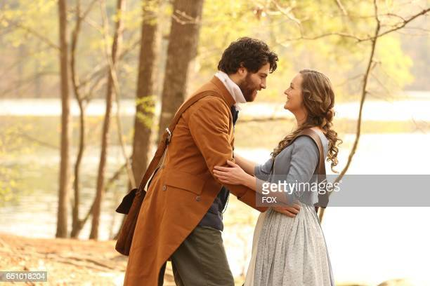 Adam Pally and Leighton Meester in the series premiere of MAKING HISTORY airing Sunday March 5 on FOX