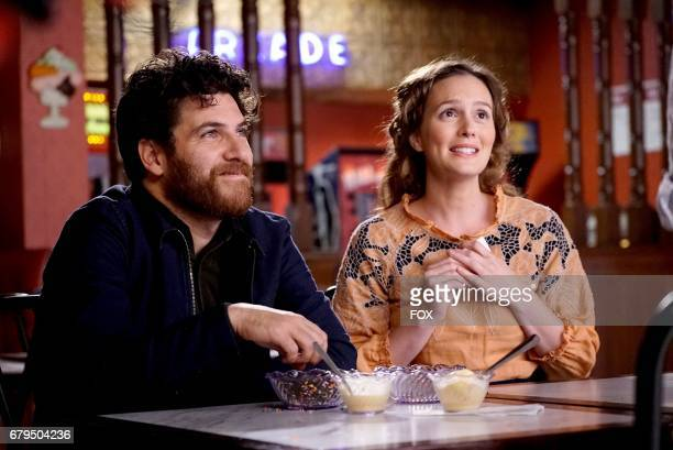 Adam Pally and Leighton Meester in the 'The Duel' episode of MAKING HISTORY airing Sunday May 7 on FOX
