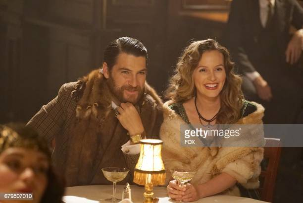 Adam Pally and Leighton Meester in 'The Touchables' episode of MAKING HISTORY airing Sunday April 2 on FOX