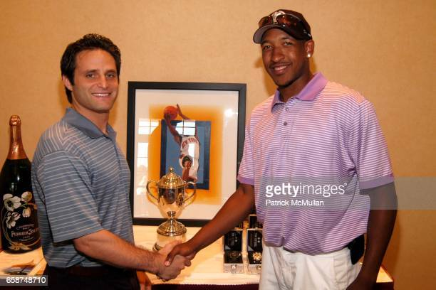 Adam Port Chris Duhon attends Hamptons Magazine presents HAMPTONS GOLF CLASSIC V at Hampton Hills Golf Country Club on June 29 2009 in Westhampton...