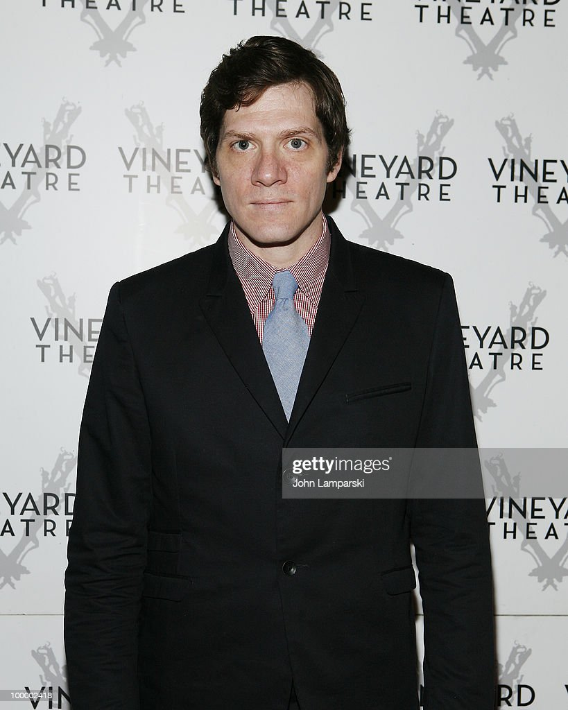 Adam Rapp attends the opening night of 'The Metal Children' at the Vineyard Theatre on May 19, 2010 in New York City.