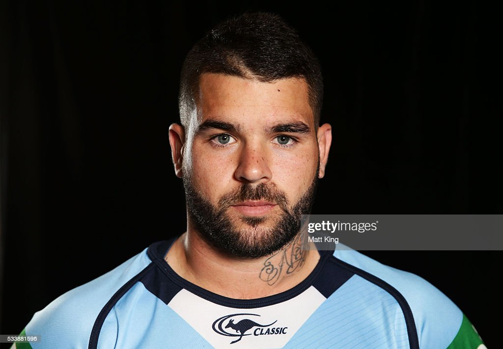 Adam Reynolds of the Blues poses during a New South Wales Blues NRL State of Origin portrait session at The Novatel on May 24, 2016 in Coffs Harbour, Australia.
