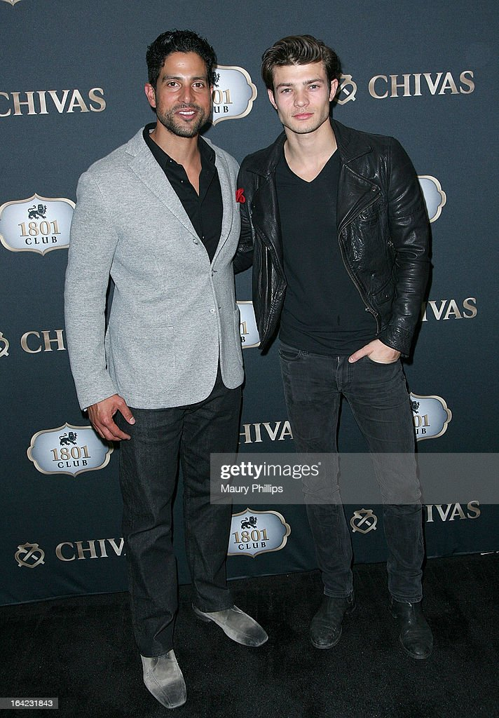 <a gi-track='captionPersonalityLinkClicked' href=/galleries/search?phrase=Adam+Rodriguez&family=editorial&specificpeople=212837 ng-click='$event.stopPropagation()'>Adam Rodriguez</a> and Eugen Bauder attend LA's Chivas Regal 1801 Club LA launch party on March 20, 2013 in Los Angeles, California.