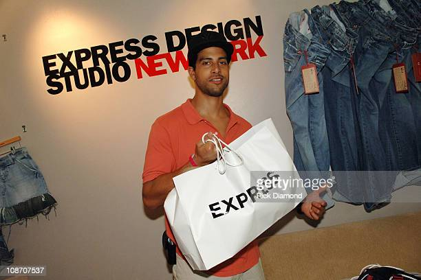 Adam Rodriguez at EXPRESS during 2005 MTV VMA Victoria's Secret and EXPRESS Suites Day 3 at Sagamore Hotel in Miami Beach Florida United States