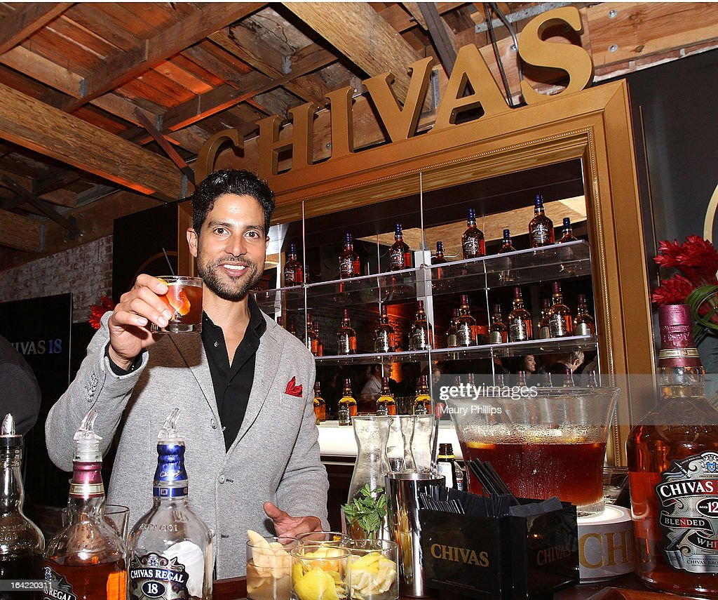 Adam Rodriguez attends LA's Chivas Regal 1801 Club LA launch party on March 20, 2013 in Los Angeles, California.