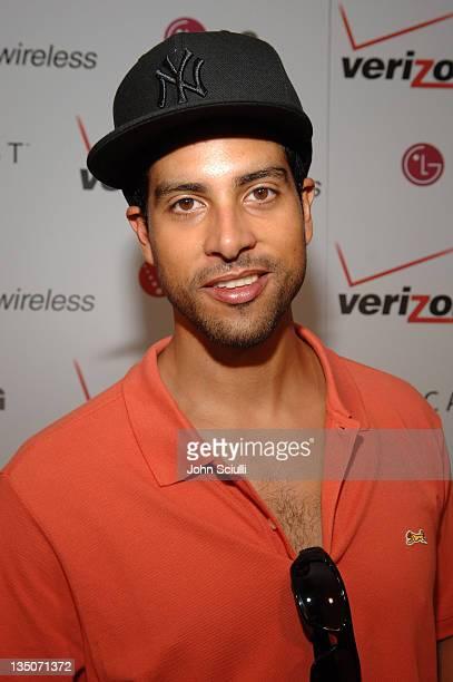 Adam Rodriguez during 2005 MTV VMA Verizon Wireless V CAST Suite Day 3 at Style Villa at the Sagamore Hotel in Miami Florida United States