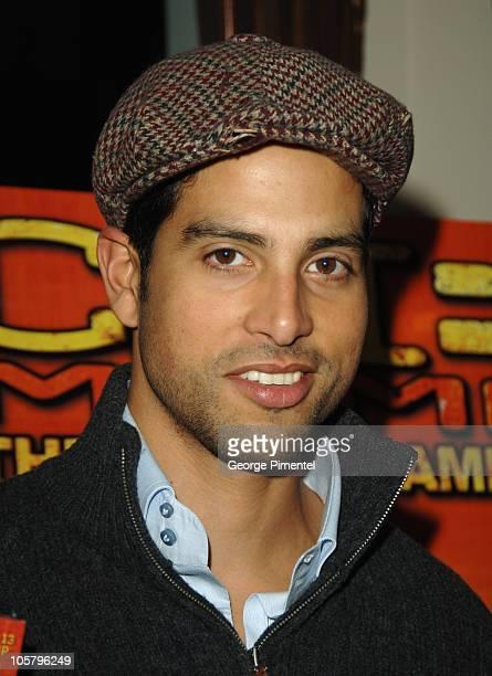 Adam Rodriguez during Adam Rodriguez Promotes the 'CSI Miami' December 2 2005 at Sassafraz Restaurant in Toronto Ontario Canada