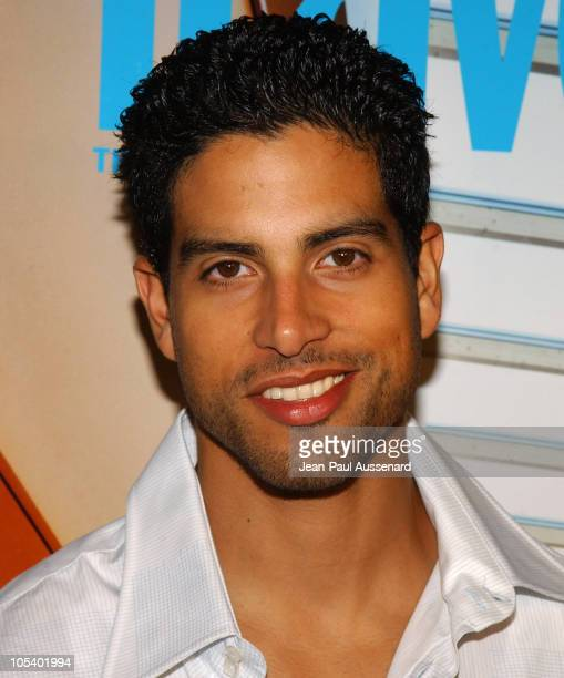 Adam Rodriguez during Conde Nast Traveler Hot Nights Los Angeles Arrivals at Spider Club in Hollywood California United States