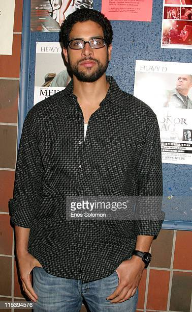 Adam Rodriguez during 'Medal of Honor Rag' Starring Heavy D Preview Night at Egyptian Arena Theatre in Hollywood California United States