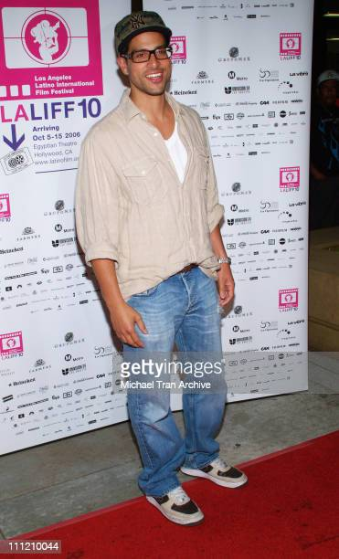 Adam Rodriguez during 'Yellow' Screening at the Los Angeles Latino International Film Festival 2006 at Egyptian Theater in Hollywood California...