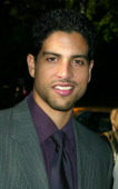 Adam Rodriguez from 'CSI Miami' during CBS Television 20022003 Upfront Party at Tavern On the Green in New York City New York United States