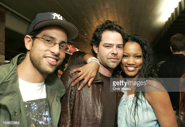 Adam Rodriguez Rory Cochrane and Garcelle BeauvaisNilon