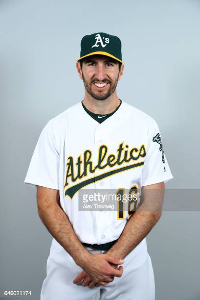 Adam Rosales of the Oakland Athletics poses during Photo Day on Wednesday February 22 2012 at Hohokam Stadium in Phoenix Arizona